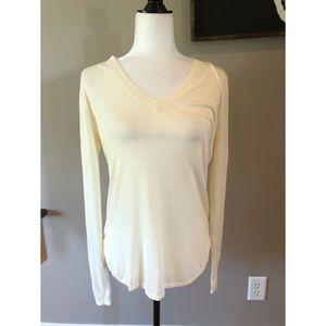 Ralph Lauren NWT silk cream sweater